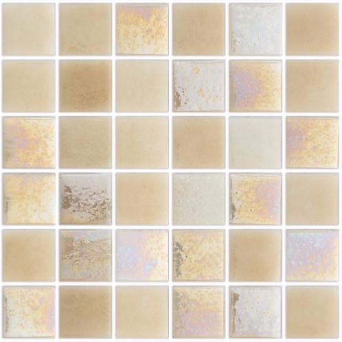 blanc cass beige nacr mallorca mosaque 24 cm pleine masse
