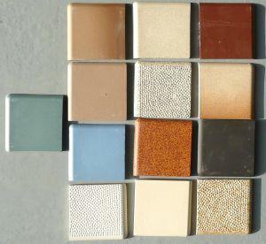 13 couleurs de gr s carrelage 10 par 10 cm avec 2 bord - Retirer des plinthes carrelage ...