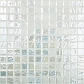 Blanc nacré effet pinceau mosaïque émaux brillant par 100 grammes