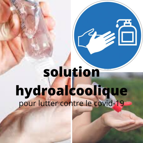 Solution Hydro-alcoolique 125 ml made in Anjou