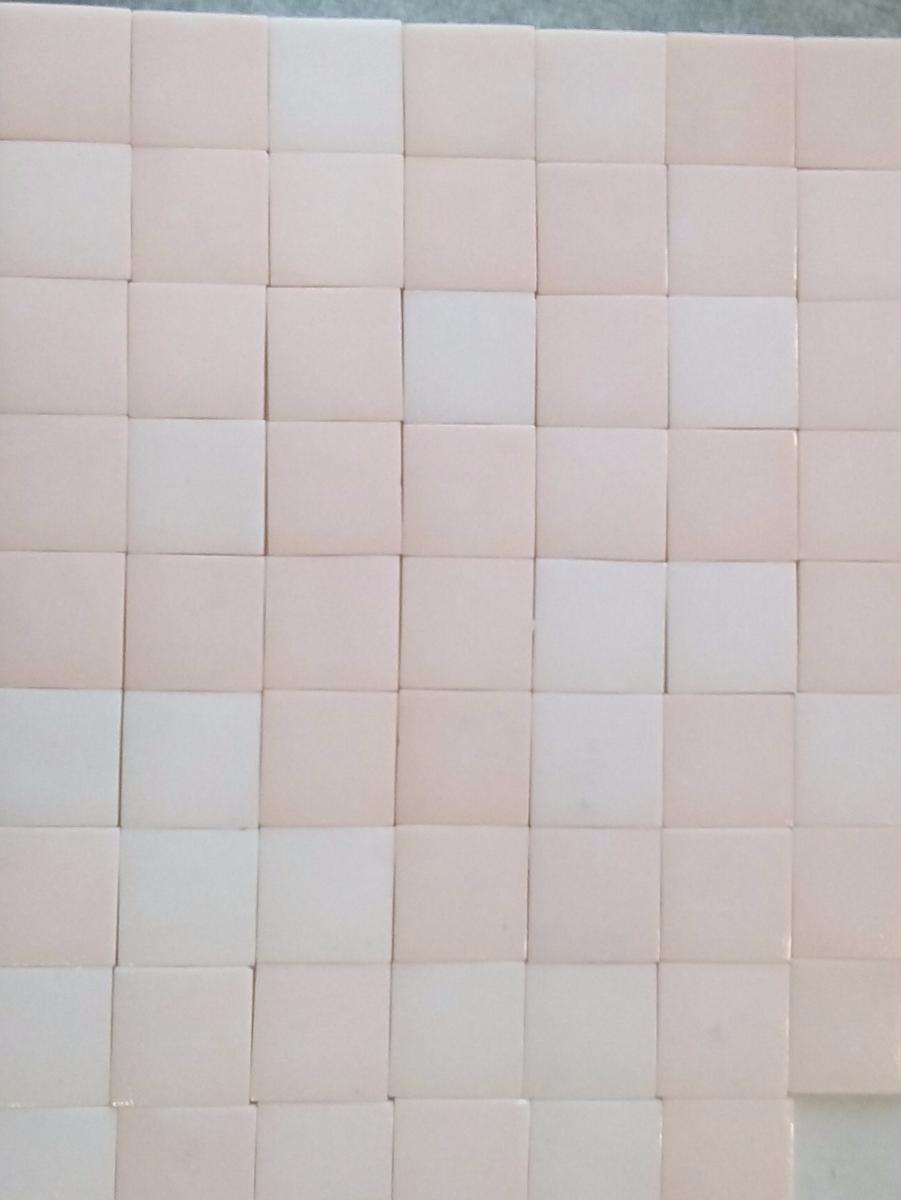 Salle De Bain Mosaique Rose ~ mosa que carrelage rose boudoir 4 cm au m achat mosa que