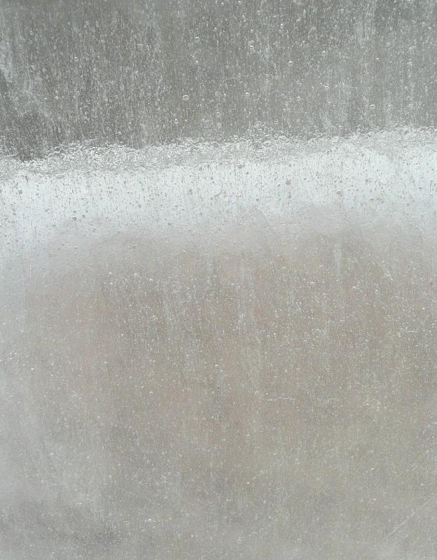 Silicone Translucide : Verre blanc bullé translucide format par cm pour vos