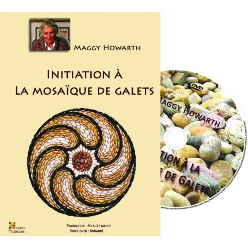 Mosaïque de Galet INITIATION en DVD de Maggy Howarth