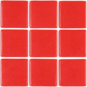 maux de verre mosa que rouge corail 2 5 cm 100 grammes de p te de verre. Black Bedroom Furniture Sets. Home Design Ideas