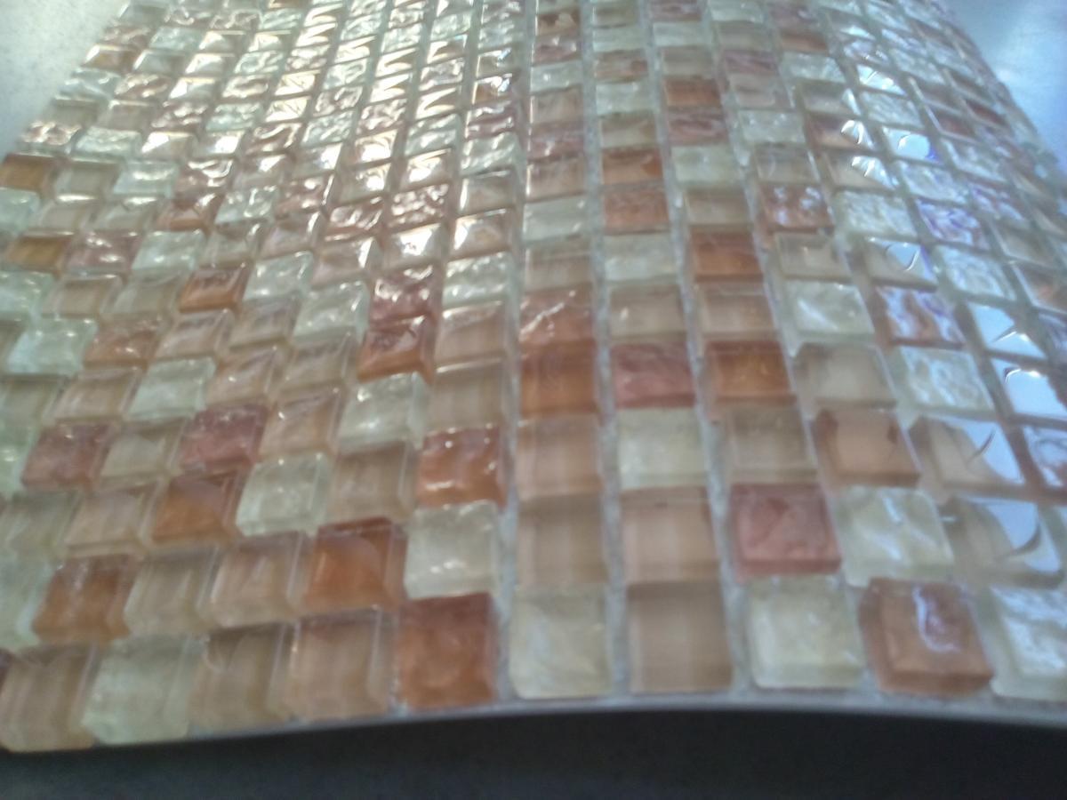 Mosaïque piscine couleur ivoire caramel mélange - Vente de ...
