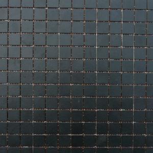 Mosa que de briare fusain noir mat par plaque de par cm achat d 39 maux de briare - Briare carrelage ...
