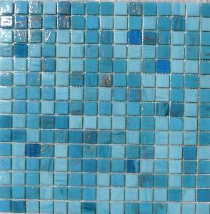mosaïque salle de bain / mosaïque en pâtes de verre au m² - Plaque Mosaique Salle De Bain