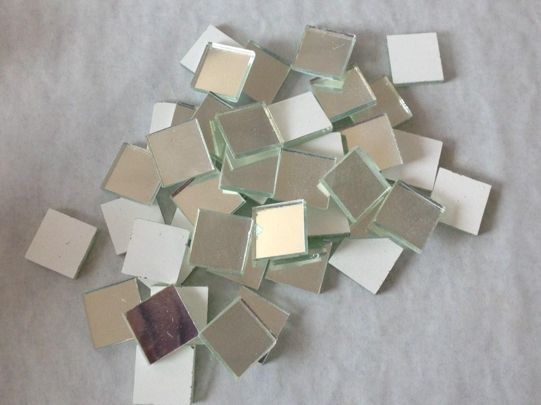 Emaux m tallis aspect argent lisse par carreau achat d for Miroir eclat silver
