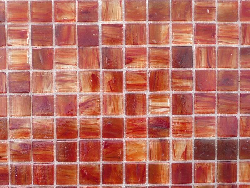 mosa que de verre artisanal rouge orange marbr plaque. Black Bedroom Furniture Sets. Home Design Ideas
