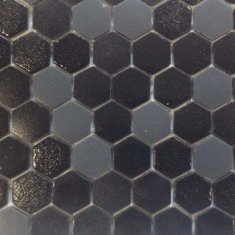carrelage hexagonal noir mat beau carrelage pour sol de cuisine carrelage hexagonal noir sol et. Black Bedroom Furniture Sets. Home Design Ideas
