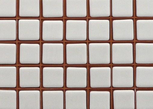emaux de verre mosaique blanc uni coton pur 2 5 cm 100. Black Bedroom Furniture Sets. Home Design Ideas