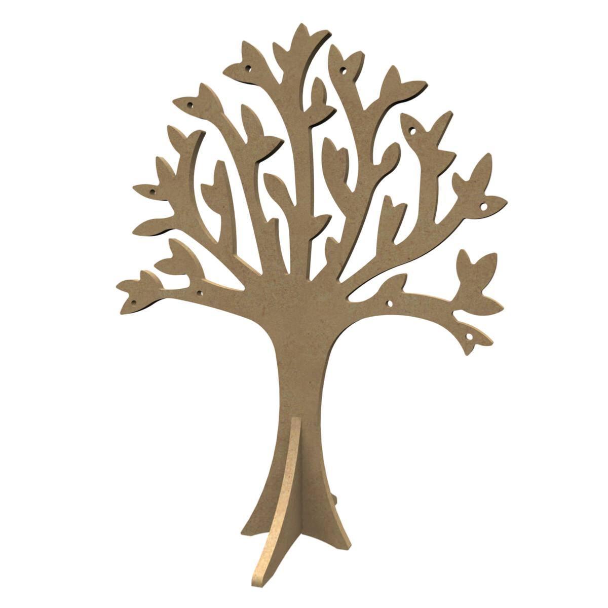 arbre 30 cm en bois mdf support mosa que deco fruitier pour mosaique de verre chez made in mosaic. Black Bedroom Furniture Sets. Home Design Ideas
