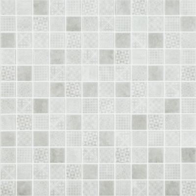 Mosa que p te de verre blanc gris carreau de ciment 100g for Carreaux de briare