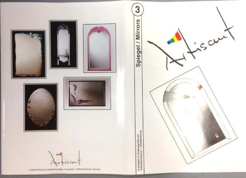 Livres avec mod les n 3 de miroirs en vitraux pr sent par for Miroir vitrail modeles