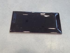 mosa que carreau m tro noir brillant 75 par 150 mm achat de carrelage m tro pour mur. Black Bedroom Furniture Sets. Home Design Ideas
