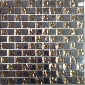 Mosaique Metallise Decoration Or Et Argent Pour Mosaiques En Plaque