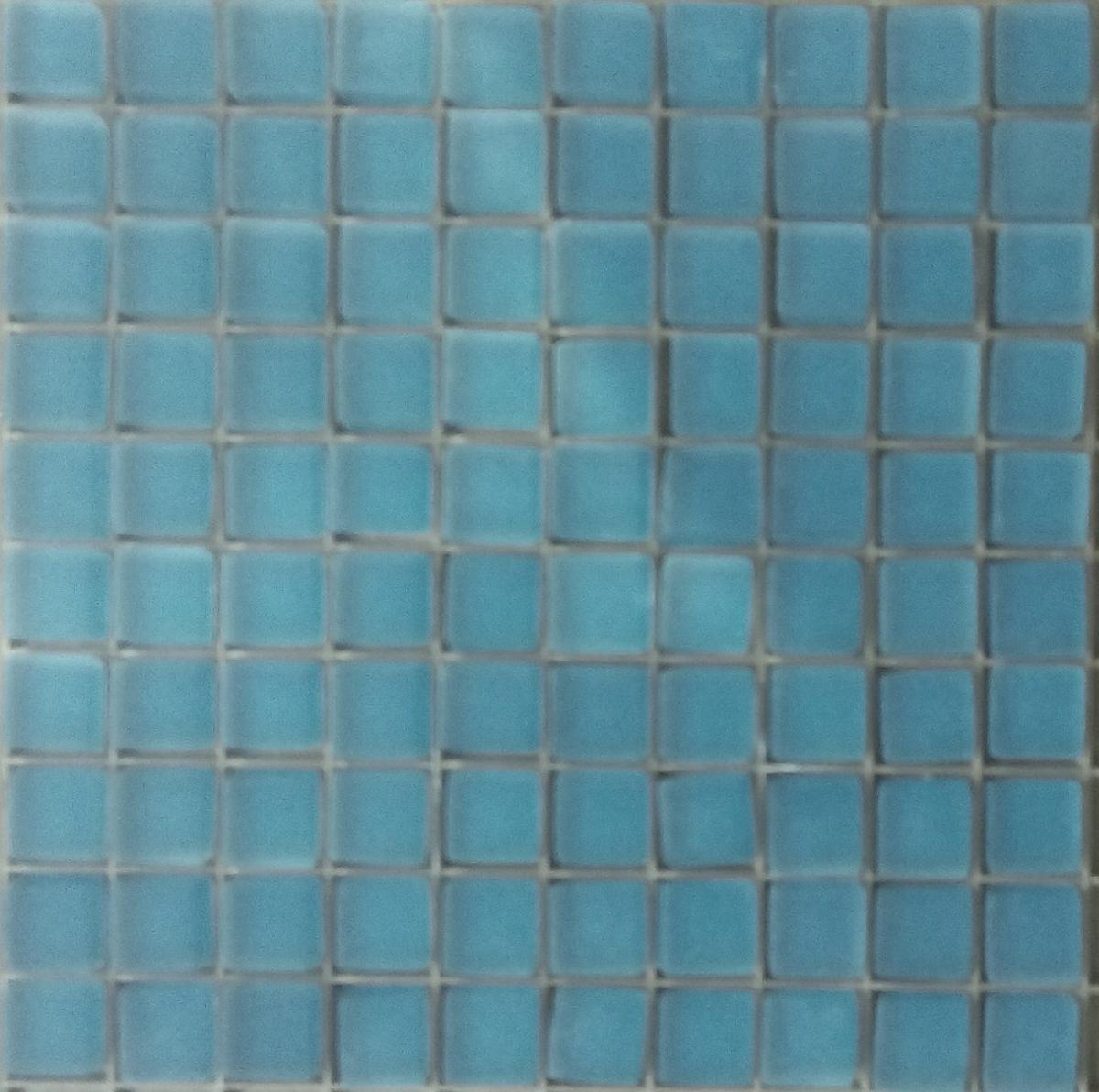 mosa que p te de verre couleur bleu cyan fonc mat plaque vente de mosa que salle de bain. Black Bedroom Furniture Sets. Home Design Ideas