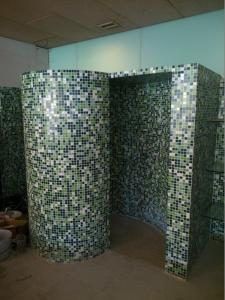 cabine de douche h lico dale droite mosaique panneaux. Black Bedroom Furniture Sets. Home Design Ideas