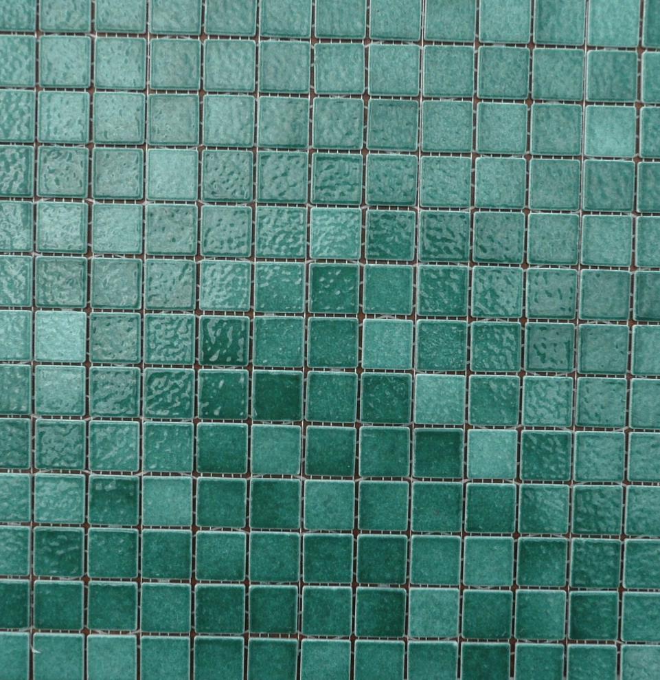 Vert foncé / buis mosaïque émaux de Briare par 16g