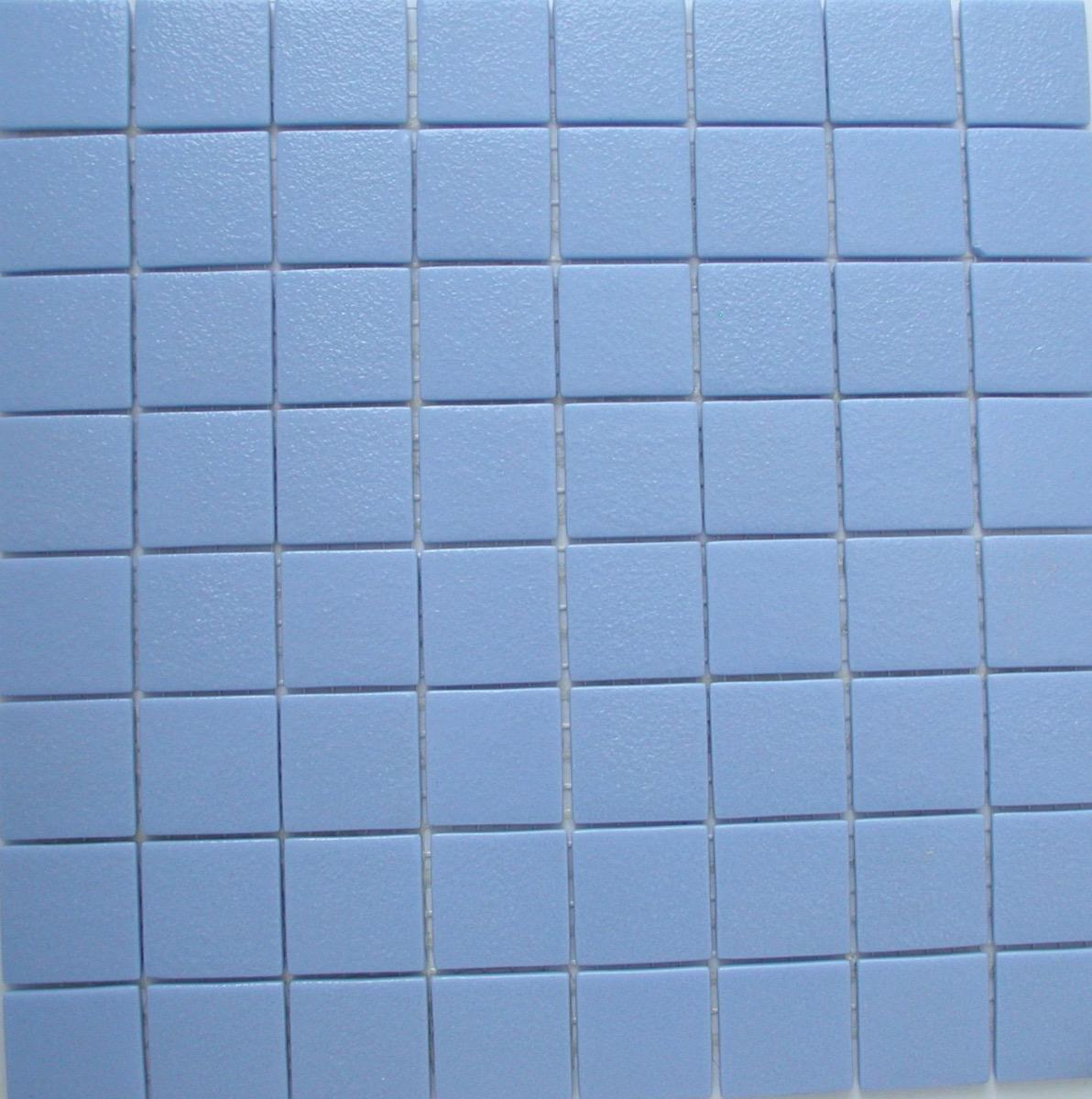 Mosaique Salle De Bain Bleu ~ mosa que maux de verre 4cm bleu lavande par plaque de 33 5 cm