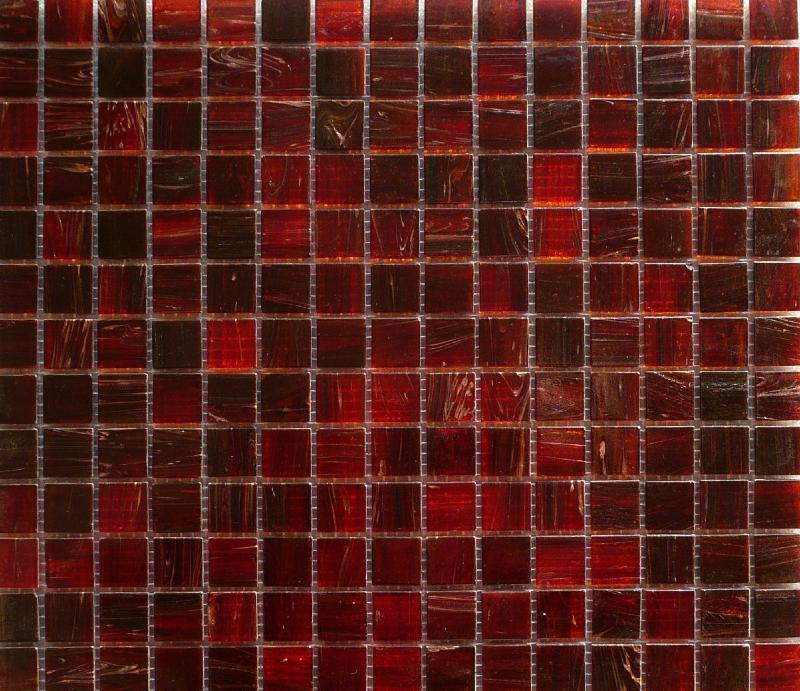mosa que p te de verre semi translucide avec gemmes rouge 2 cm plaquette pates de verre. Black Bedroom Furniture Sets. Home Design Ideas
