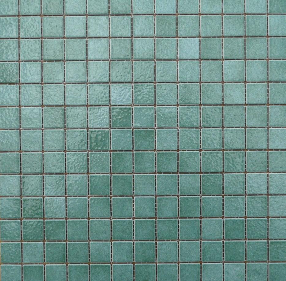 Vert d\'eau / ivraie mosaïque briare par plaque