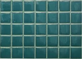 Mosaïque carrelage , turquoise bleu canard uni 2.4 cm au M - Achat ...