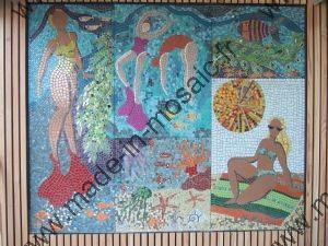 Piscine bressuire mosaique modele image en mosaiques for Piscine bressuire