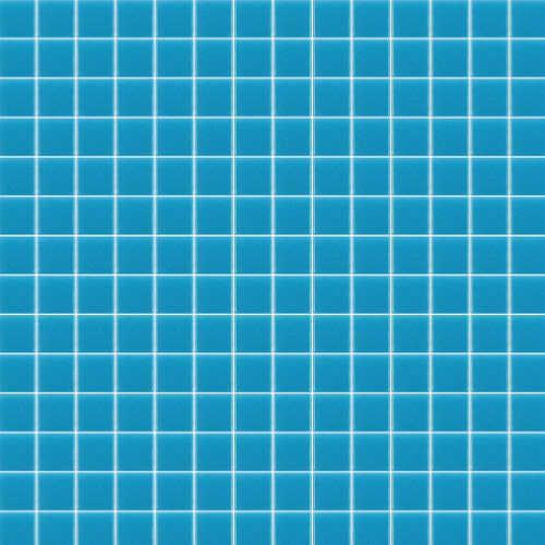 Bleu clair uni SAJA mosaïque émaux brillant pleine masse par 1 M²