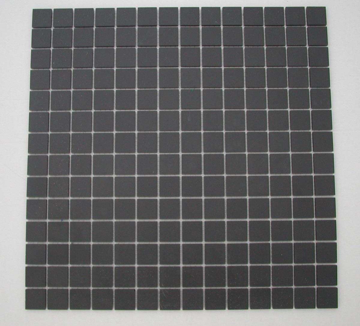 Mosaique gr s noir plaque winckelmans achat de carrelage for Plaque pour carrelage
