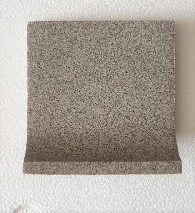 Gris Sable Osley Mosaïque Carrelage Plinthe à Gorge 10 Par 10 Cm Grès Ceram à La Pièce