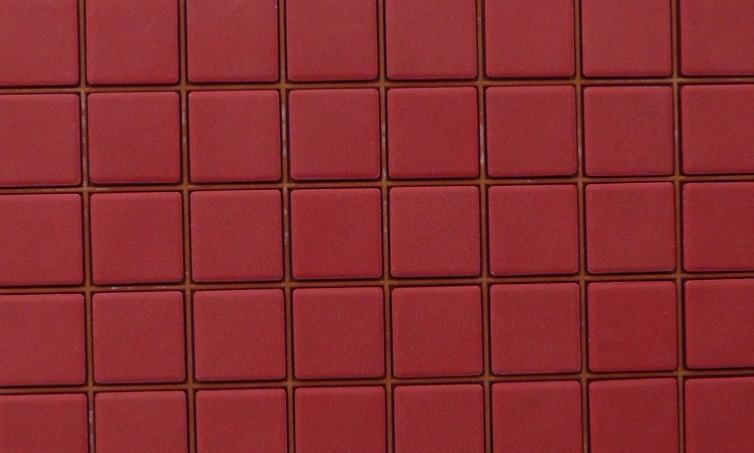 Emaux de briare rubis rouge par plaque de par for Carreaux de briare