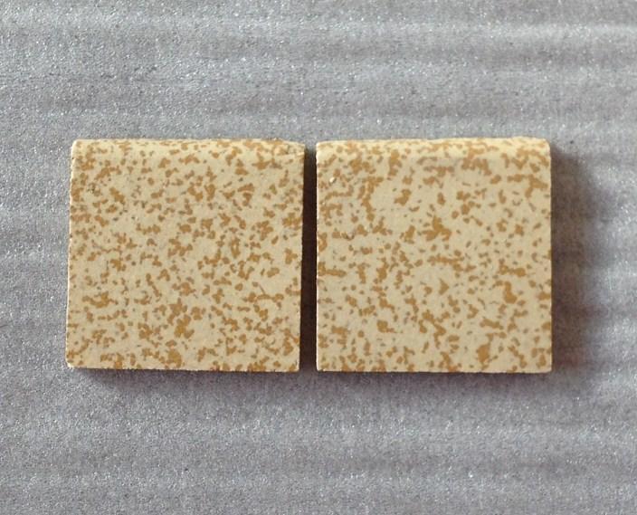 mosaique carrelage jaune porphyr 5cm bord mat au m. Black Bedroom Furniture Sets. Home Design Ideas