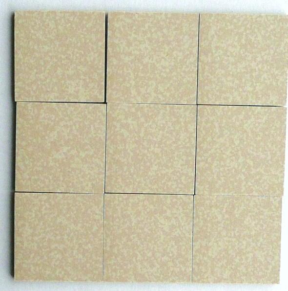 Mosaique carrelage blanc gr ge porphyr 5cm mat achat de for Carrelage 5x5 blanc