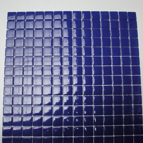 mosa que maux de verre bleu france par plaque de 33 5 par cm achat mosaique salle de bain. Black Bedroom Furniture Sets. Home Design Ideas