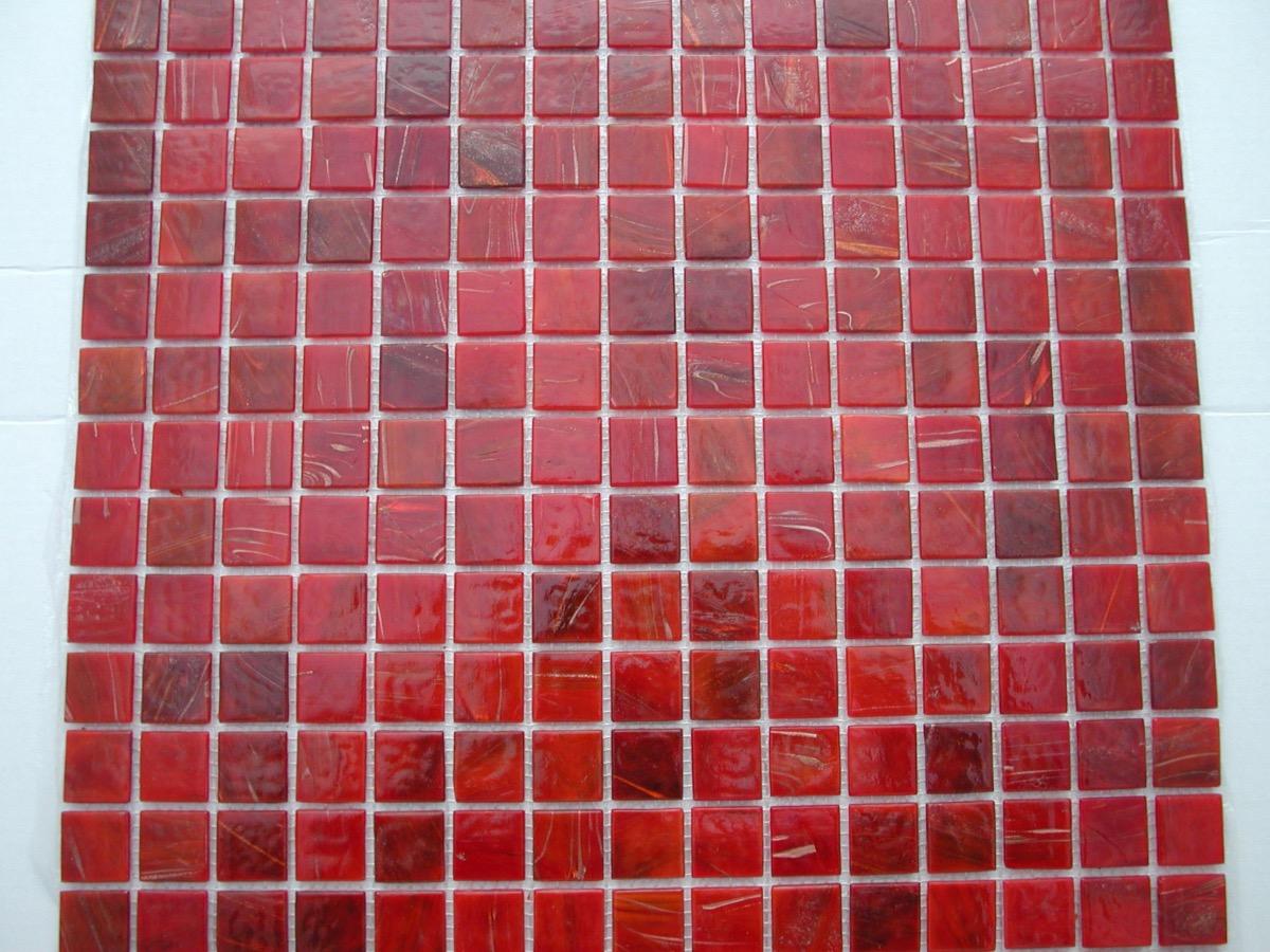 mosa que p tes de verre gemme plaque mosa que vente en ligne p te de verre rouge orange. Black Bedroom Furniture Sets. Home Design Ideas