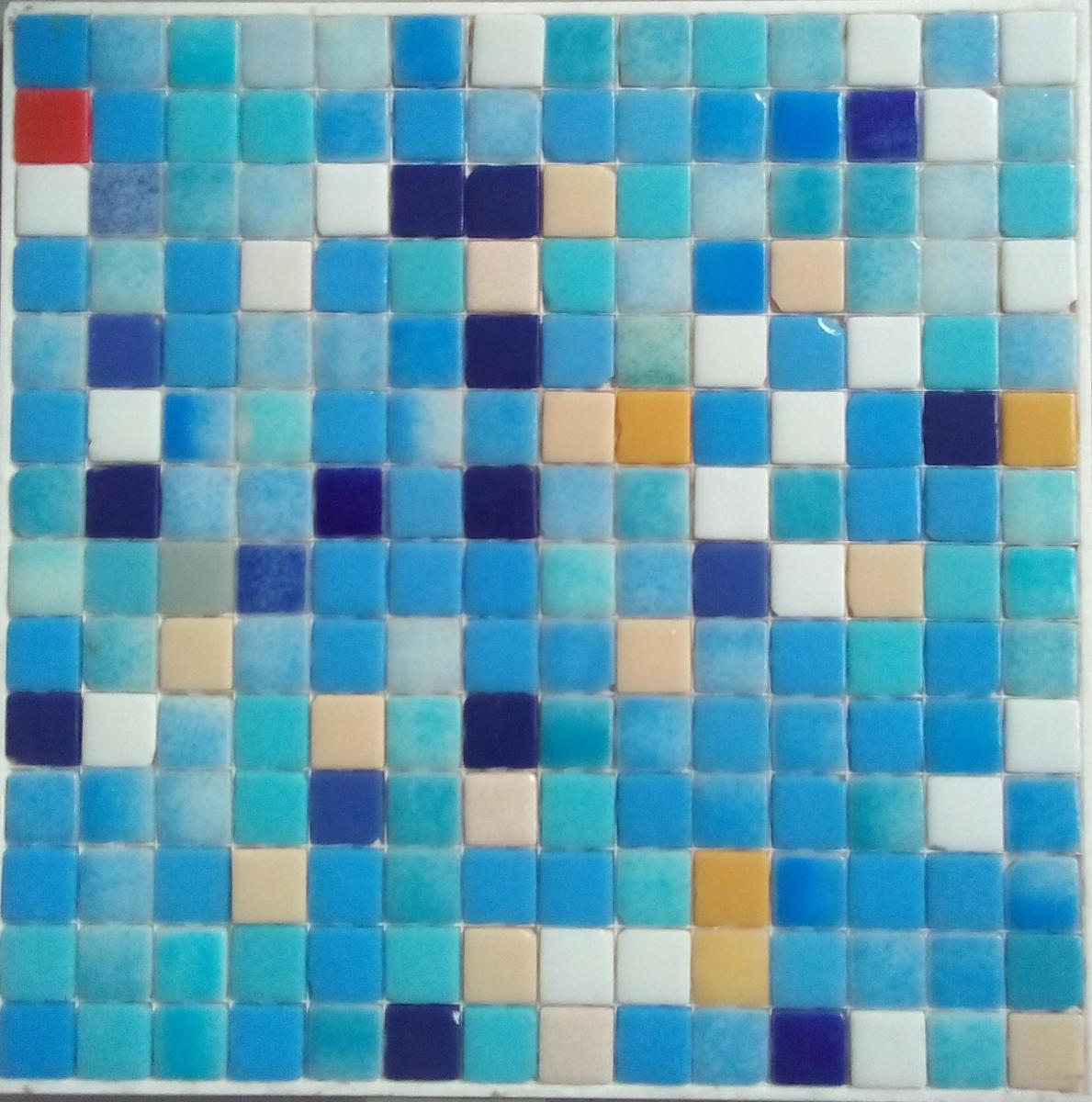 Emaux De Verre Salle De Bain ~ mosa que maux de verre m langes bleu 2eme choix par 2 m achat