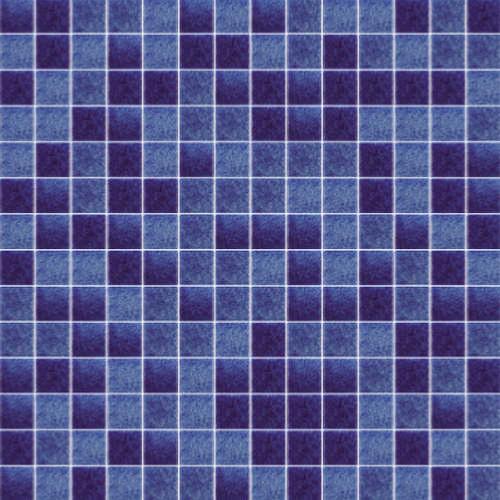 Bleu marine moucheté Jonico 3 cm mosaïque émaux lot de 10 M²