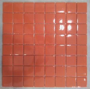 mosa que carrelage rouge brique 4 cm par plaque achat. Black Bedroom Furniture Sets. Home Design Ideas