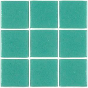 Mosaïque carrelage , vert turquoise cubas 4 cm par plaque - Achat ...