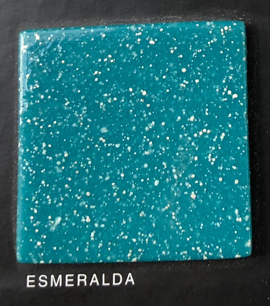 Mosa Que Carrelage Turquoise Fonc Canard 2 4 Cm Au M Achat